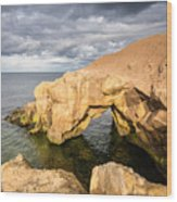 Saddle Rocks At High Tide Wood Print