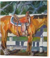 Saddled Wood Print