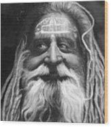Sadhu  Wood Print