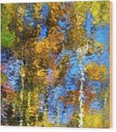 Safari Mosaic Abstract Art Wood Print