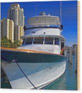 Yacht - Safe Harbor Series 39 Wood Print
