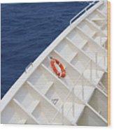 Safety At Sea Wood Print
