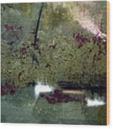 Sage And Plum Wood Print