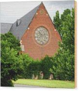 Sage Chapel Cornell University Ithaca New York 02 Wood Print