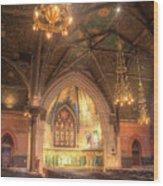 Sage Chapel II Wood Print