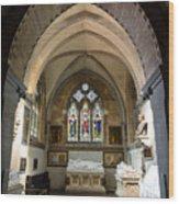 Sage Chapel Memorial Room Wood Print