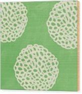 Sage Garden Bloom Wood Print