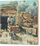 Sage Mine Wood Print