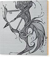 Sagittaurus Wood Print