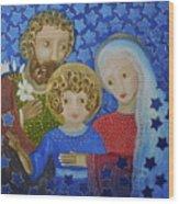Sagrada Familia Wood Print by Maria Matheus Maria Santeira