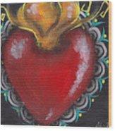 Sagrado Corazon 1 Wood Print