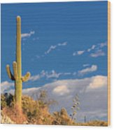 Saguaro Cactus - Symbol Of The American West Wood Print