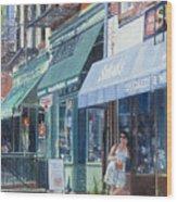 Sahadis Atlantic Avenue Brooklyn Wood Print