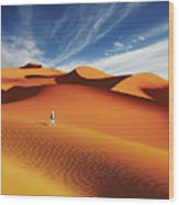 Sahara Desert, Algeria Wood Print