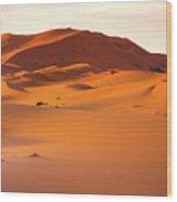 Sahara Dessert - Morocco Wood Print