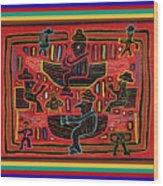 Sahilas And Argars In Their Hammocks Wood Print