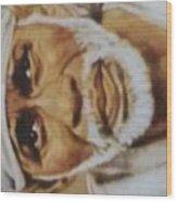 Sai Baba Wood Print
