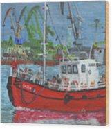 Saida Wood Print