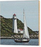 Sail Away Wood Print