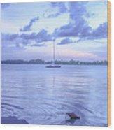 Sail Away Devils Island Wood Print