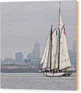 Sail Boston 2017 Union And Spirit Of South Carolina Wood Print