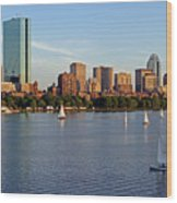 Sail Boston Wood Print by Juergen Roth