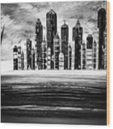 Sail With The City 16 Wood Print