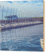 Sailboat Classes Wood Print