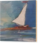 Sailboat Wood Print
