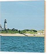 Sailing Around Barnstable Harbor Wood Print