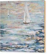 Sailing Away 2 Wood Print