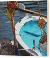 Sailing Dories 1 Wood Print