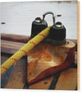 Sailing Dories 3 Wood Print