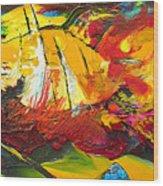 Sailing Impression 01 Wood Print