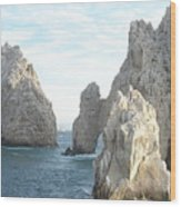 Sailing In Los Cabos Wood Print