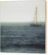 Sailing Wood Print by Lyle  Huisken