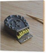 Sailor Matchbox Wood Print