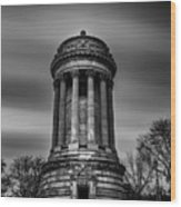 Sailors And Soldiers Monument Wood Print
