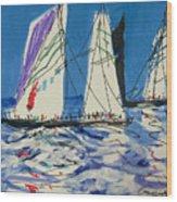 Sails IIi Wood Print
