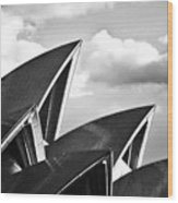 Sails Of Sydney Opera House Wood Print