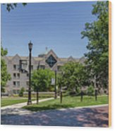Saint Augustine Center For The Liberal Arts Wood Print