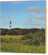 Saint Augustine Lighthouse Wood Print