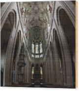 Saint Barbara's Church, Kutna Hora Wood Print