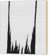Saint Cronkle Wood Print