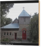 Saint Cyprians Episcopal Church Wood Print