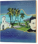 Saint Damien And Molokai #257 Wood Print
