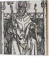 Saint Erasmus Wood Print