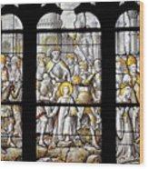 Saint Floscel Wood Print