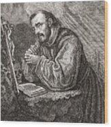 Saint Francis Of Assisi Wood Print