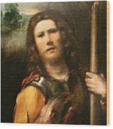 Saint George 1513 Wood Print